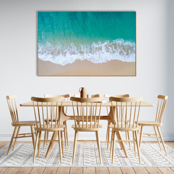 Beach Aerial Print Wall Art Room Décor