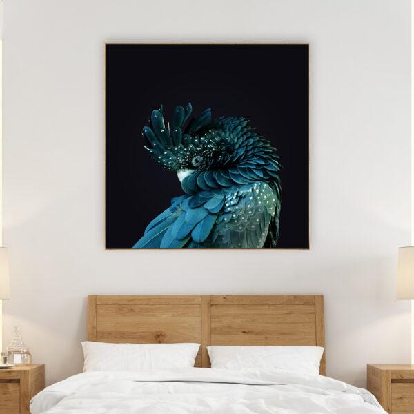 Black Cockatoo Print Wall Art