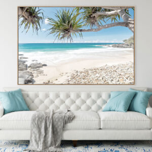 Coolum Beach Scene Print Wall Art