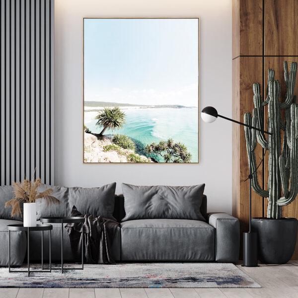 Fraser Island Beach View Print Wall Art