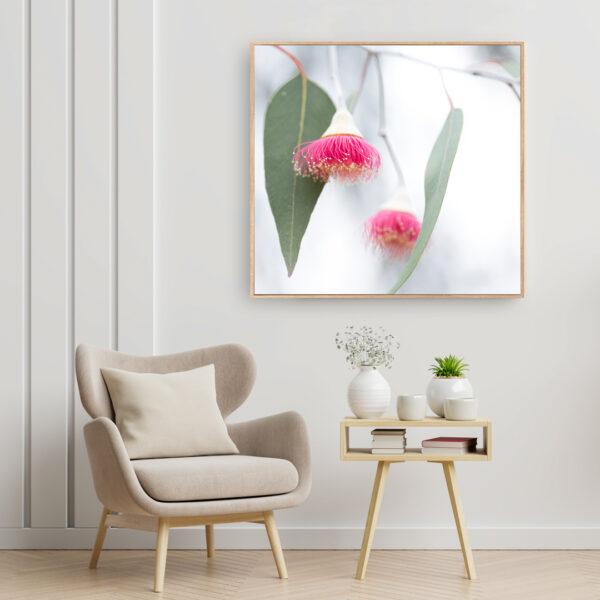 Gum Blossom Australiana Wall Art Print