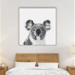 Koala Beach Print Wall Art