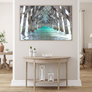 Noarlunga Jetty Wall Art Print