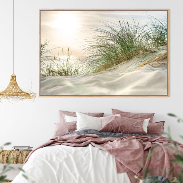 Sand Dune Sunrise Wall Art Print