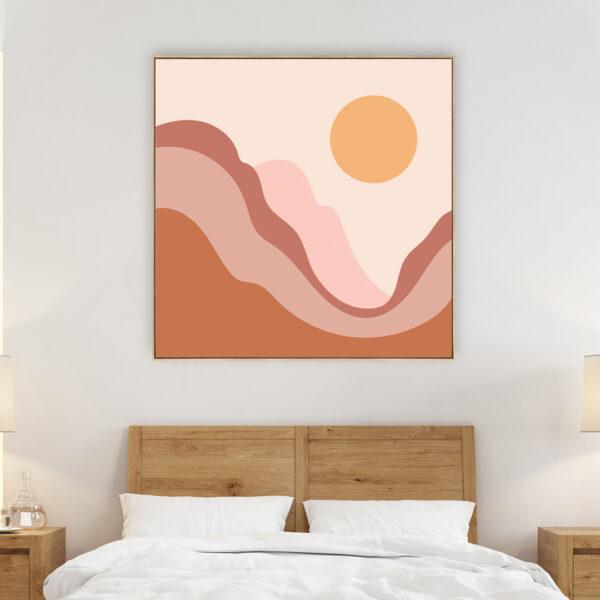 Abstract Landscape Print Wall Art