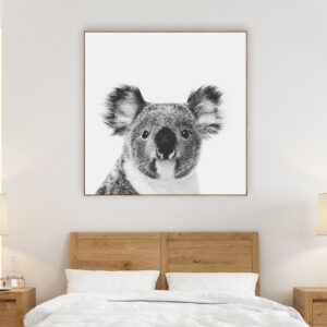 Koala Beach Print Wall Art