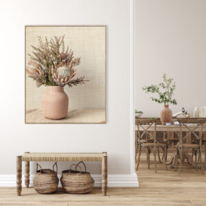 Dusty Blooms Canvas Print Wall Art