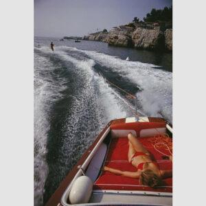 Leisure In Antibes Slim Aarons