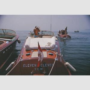 Motorboats In Antibes Slim Aarons