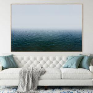 Ocean Mist Canvas Print Wall Art