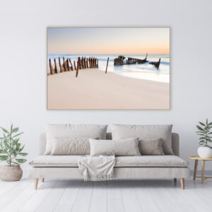 Dicky Wreck Canvas Print Wall Art